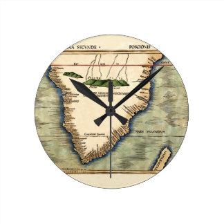 Relógio Redondo África do Sul 1513