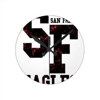 Relógio Redondo Águias de San Fran