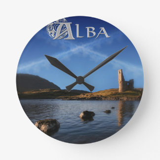 Relógio Redondo Alba, Scotland, Caledonia