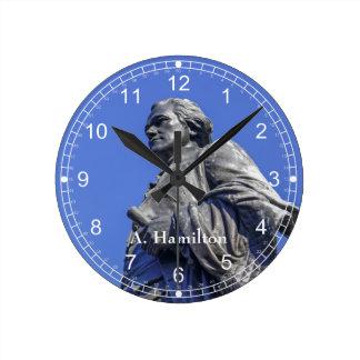 Relógio Redondo Alexander Hamilton