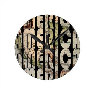Relógio Redondo america1610