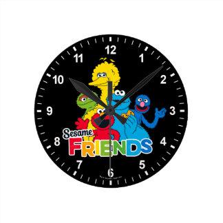 Relógio Redondo Amigos do sésamo do Sesame Street  