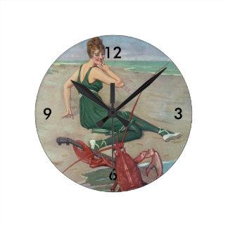 Relógio Redondo Amigos novos do verão do T