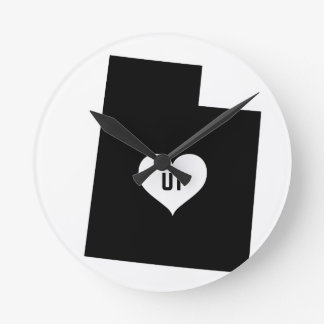 Relógio Redondo Amor de Utá