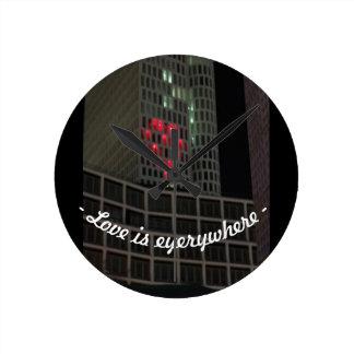 Relógio Redondo Amor em Berlim