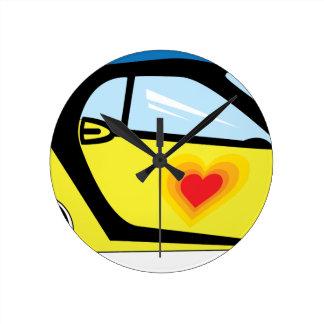 Relógio Redondo Amor esperto