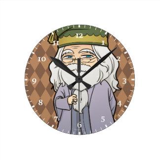 Relógio Redondo Anime Dumbledore
