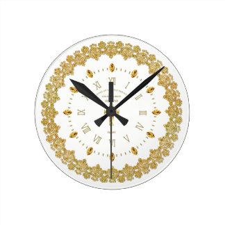 Relógio Redondo Aniversário ordenado da FREIRA 50th jubileu