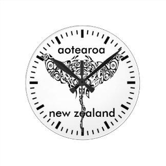 Relógio Redondo aotearoa Nova Zelândia 15