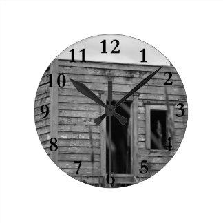 Relógio Redondo aotearoa Nova Zelândia da cabine dos colonos