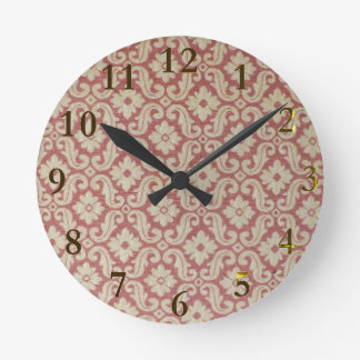 Relógio Redondo aotearoa velho Nova Zelândia do teste padrão