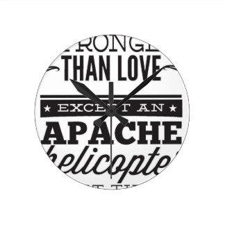 Relógio Redondo Apache