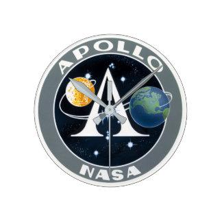 Relógio Redondo Apollo Calcular o tempo