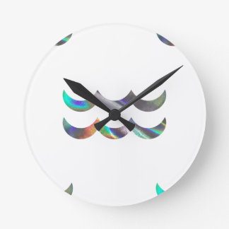 Relógio Redondo Aquário do holograma