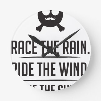 Relógio Redondo Arroz na chuva