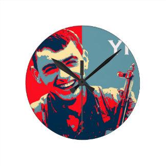 Relógio Redondo Arte curdo 2 do lutador 2 de YPG