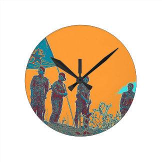 Relógio Redondo Arte de YPJ