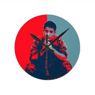 Relógio Redondo Arte do soldado 4 de YPG