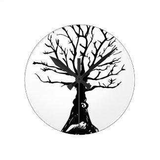 Relógio Redondo Árvore de Everwatching