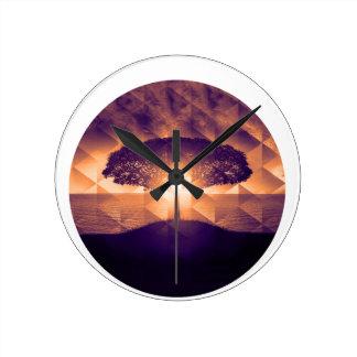Relógio Redondo Árvore de vida