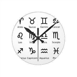 Relógio Redondo astros