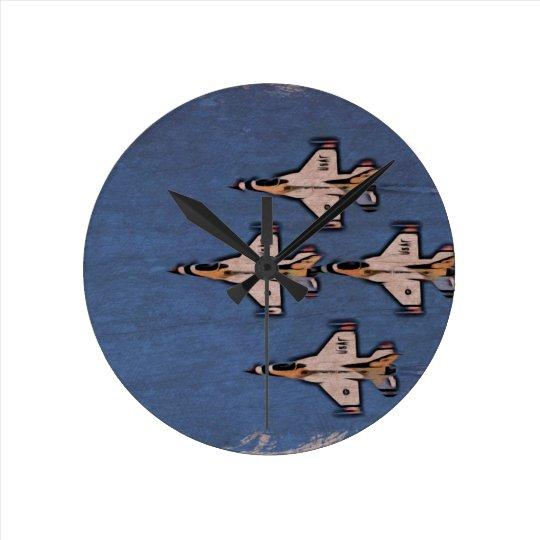 Relógio Redondo Aviões a jato