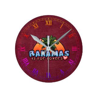 Relógio Redondo Bahamas são para amantes