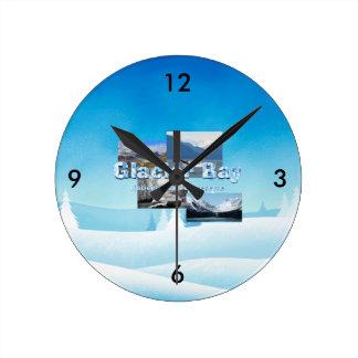 Relógio Redondo Baía de geleira de ABH