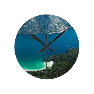 Relógio Redondo Baía Hawaiihanauma-2018 de Hanauma