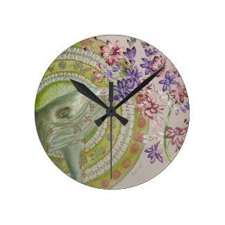 Relógio Redondo Baleia
