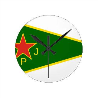 Relógio Redondo Bandeira de YPJ