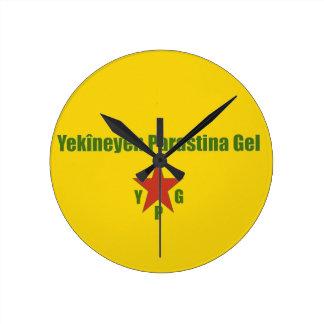 Relógio Redondo Bandeira v2 de YPG