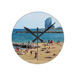 Relógio Redondo Barcelona