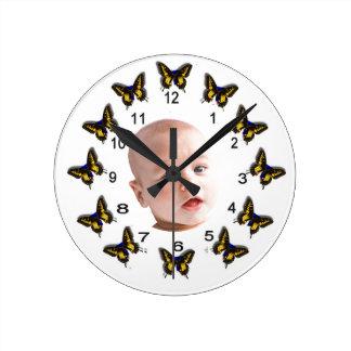 Relógio Redondo Bebê