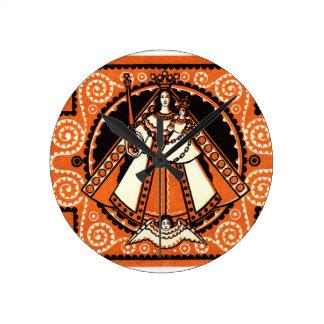 Relógio Redondo Benevolência 1921 da cédula de Kevelaer Notgeld