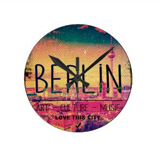 Relógio Redondo Berlin, Love This City series, circle