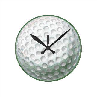 Relógio Redondo Bola de golfe