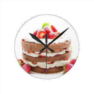 Relógio Redondo bolo