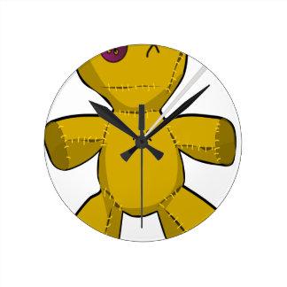 Relógio Redondo Boneca do Voodoo