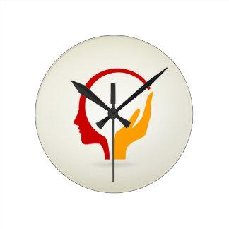 Relógio Redondo Cabeça