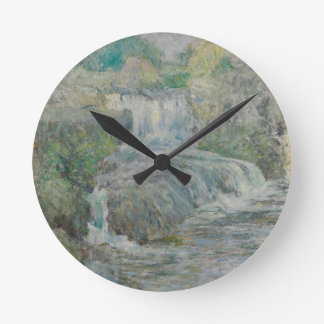 Relógio Redondo Cachoeira - John Henry Twachtman