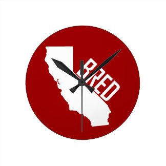 Relógio Redondo Califórnia produziu