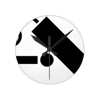 Relógio Redondo Câmara de segurança