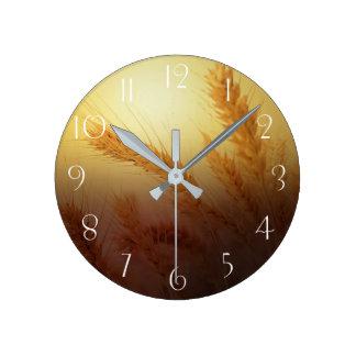Relógio Redondo Campo de trigo