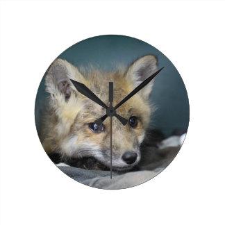 Relógio Redondo Capa de telefone do Fox