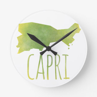 Relógio Redondo Capri