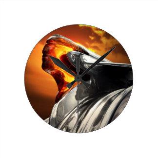 Relógio Redondo Carro principal do clássico de Pontiac Chieftain