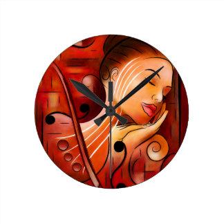 Relógio Redondo Casselopia - sonho do violino