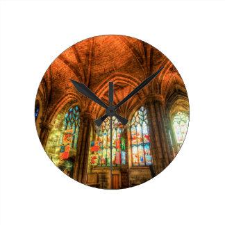 Relógio Redondo Catedral Edimburgo Scotland de St Giles