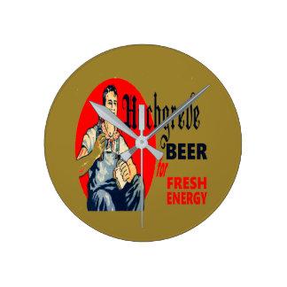 Relógio Redondo Cerveja de Hochgreve